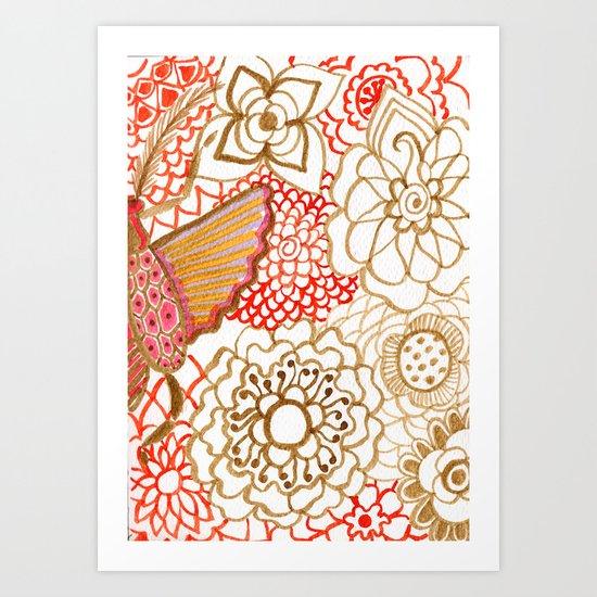 Deliria Art Print
