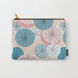 Modern Retro Pastel Pattern Carry-All Pouch