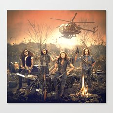 The Sheepdogs Canvas Print