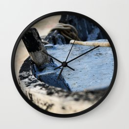 Boat detail Wall Clock