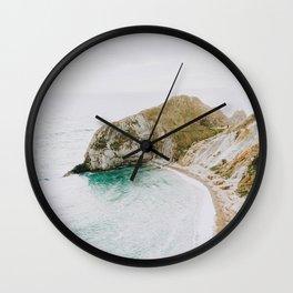 summer coast iv Wall Clock