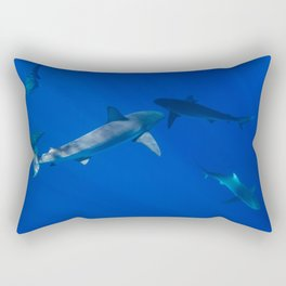 Hawaiian Shark V Rectangular Pillow