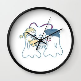 Little Ghost Telepathic Wall Clock