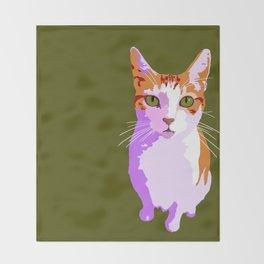 Trixie Pink/Green Throw Blanket