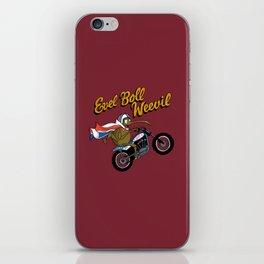 Evel Boll Weevil iPhone Skin