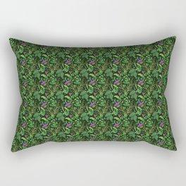 Vegetable Jungle Rectangular Pillow