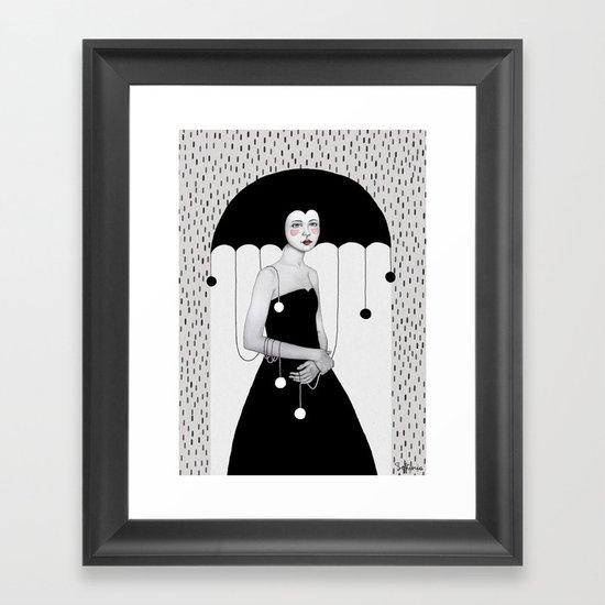 Rainy Minta Framed Art Print