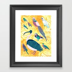 Aviary I Framed Art Print