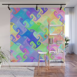 Color Dance Wall Mural