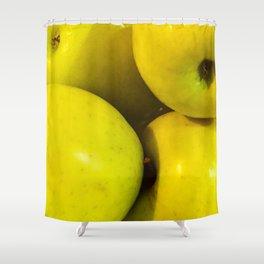 Manzanas Shower Curtain