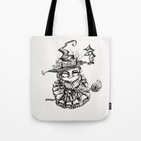oz Tote Bags featuring Oz by artlandofme