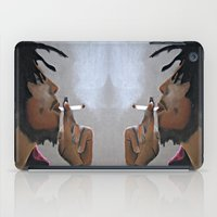 marley iPad Cases featuring Marley Portrait by Samaa Ahmed