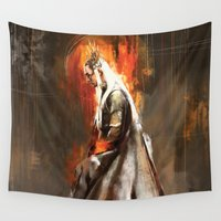 tolkien Wall Tapestries featuring Thranduil Oropherion by Wisesnail
