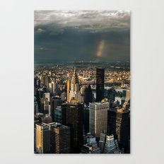 Manhattan - great sky Canvas Print