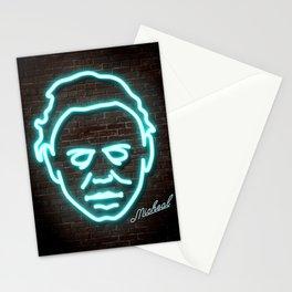 MIchael Neon Light Print Stationery Cards