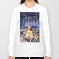 egypt Long Sleeve T-shirts featuring Egypt 2079 by John Turck