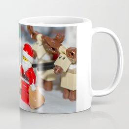 Santa and Rudolf Coffee Mug