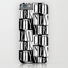In a New York City Frame of Mind iPhone Case