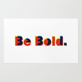 Be Bold Type Rug