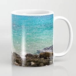 The Rocky Sea Shores of Cayman Island Coffee Mug