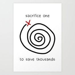Life is Strange - Sacrifice One Art Print