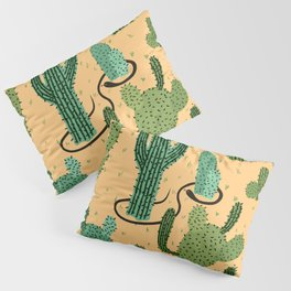 The Snake, The Cactus and The Desert Pillow Sham