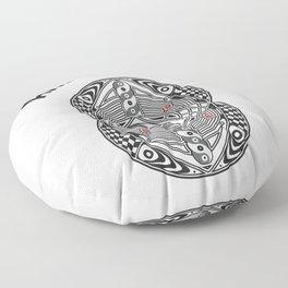 Vesica Piscis Awakening Floor Pillow