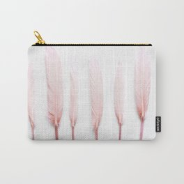 Pale Feathers Carry-All Pouch