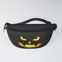 Scary Halloween Pumpkin design Gift For Halloween Party Fanny Pack