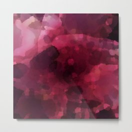 Spilled Wine Metal Print