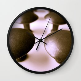 With Knobs On Wall Clock