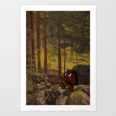 Shitmba Art Print