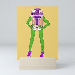 Alien Robot Cosplay Mini Art Print