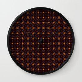 Pattern 23 Wall Clock