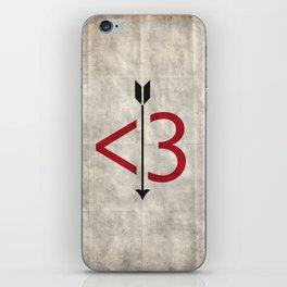 A Typo Love iPhone Skin