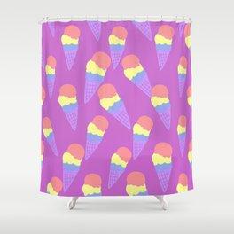 Ice Cream Shower Curtain