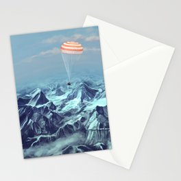 astronaut returns Stationery Cards