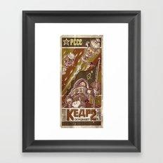 Kosmonavt Kedr Framed Art Print