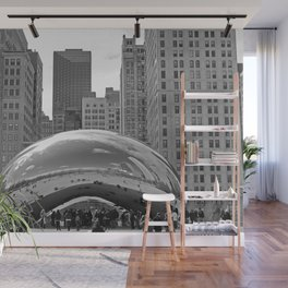 Chicago Clouds Wall Mural