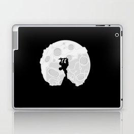 Skater Moon Laptop & iPad Skin