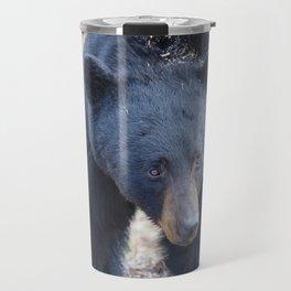 Black bear on the move Travel Mug