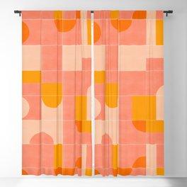 Retro Tiles 03 Blackout Curtain
