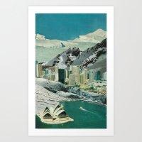 sydney Art Prints featuring Sydney by Martin Carri