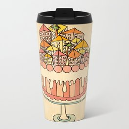 Cake Town Metal Travel Mug