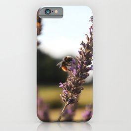 Greedy Lavender Bumblebee iPhone Case