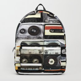cassette nostalgy Backpack