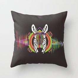 Zebra Divina Throw Pillow