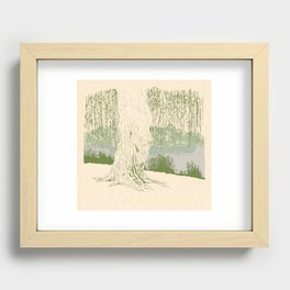 Willow Recessed Framed Print