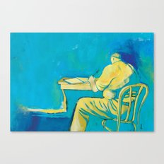 THE WRITER Canvas Print