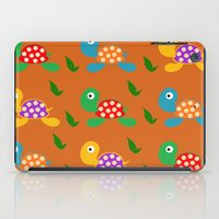 turtle iPad Cases featuring turtle by vitamin